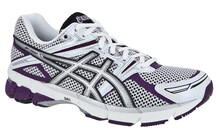Asics Women's GT-1000 W white/silver/purple